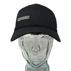 Chipotle Mexican Grill Baseball Cap Hat  Black 13